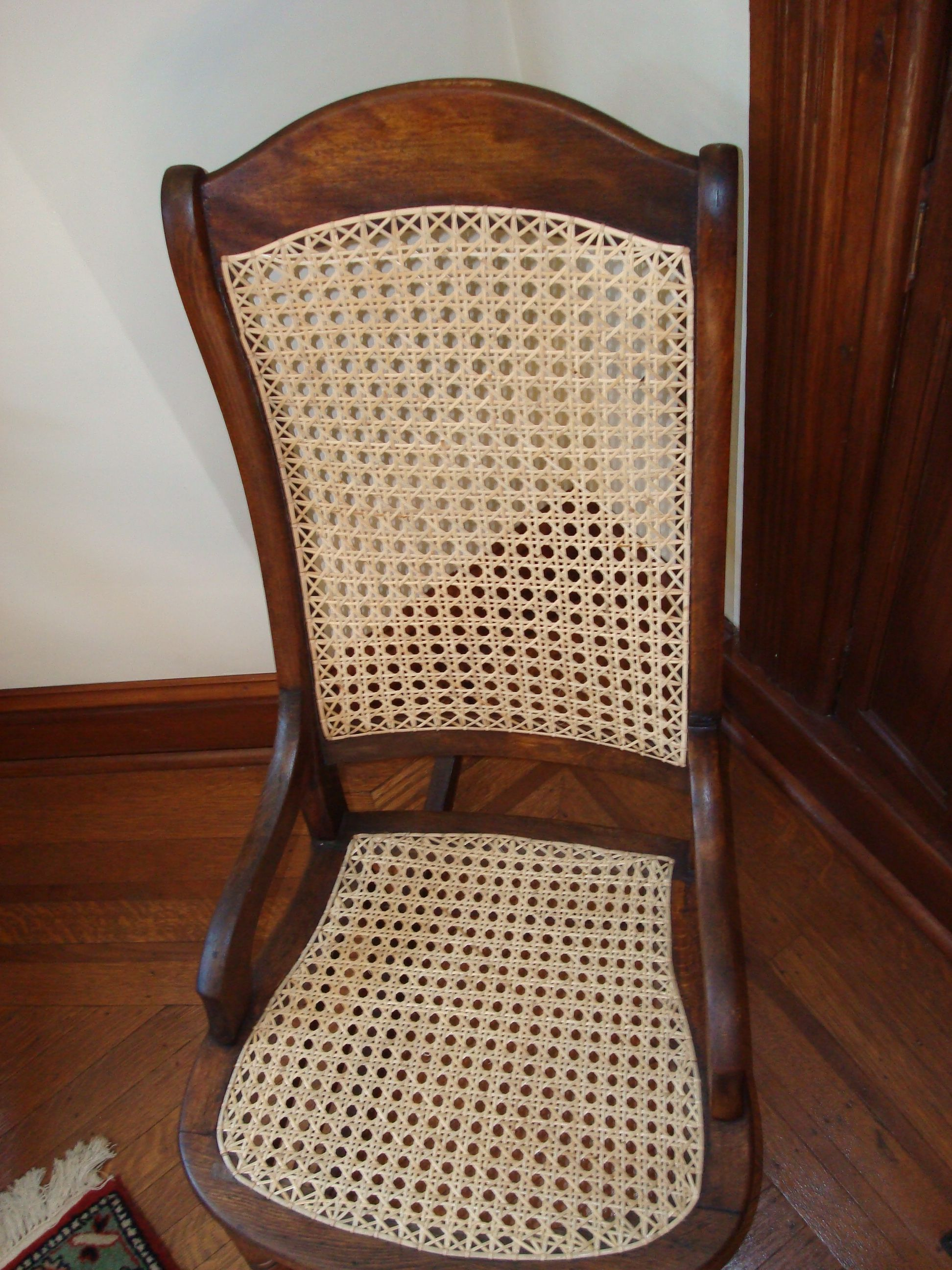 Hand Caned Chair